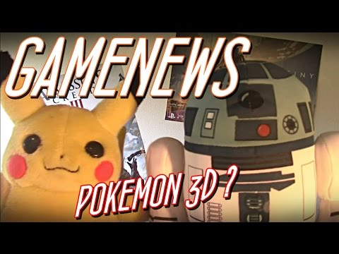 GAMENEWS:POKEMON 3D Online spielbar?! +Link Download! StarWarsSpiel zum Film?