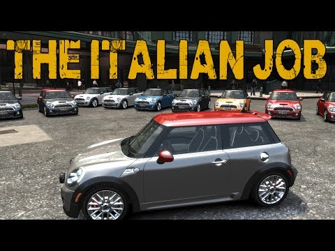 THE ITALIAN JOB! (GTA Online w/ Goldy & Vern)